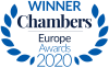 Top ranked, Chambers Europe 2019